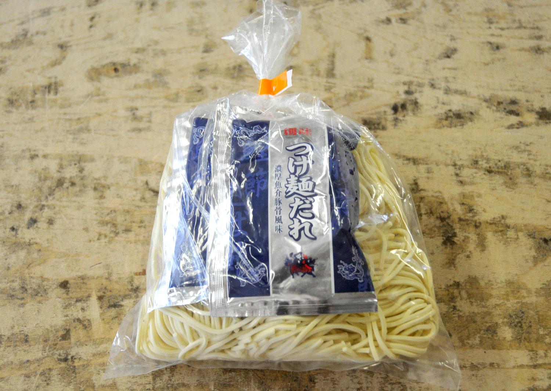 自然素材のつけ麺(2食入・スープ付)極太麺