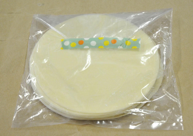 超ジャンボ餃子の皮(15.4cm)12枚